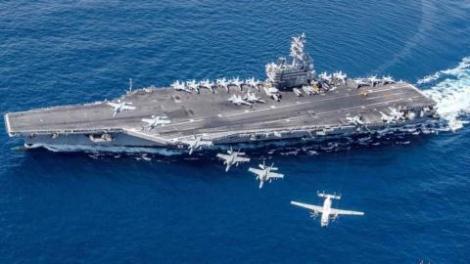 Mỹ không dám đưa tàu sân bay cùng F-35C đến biển xa