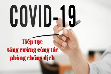Tăng cường phòng, chống dịch Covid-19 trong lĩnh vực văn hoá, thể thao và du lịch