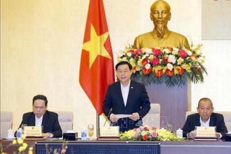 Chủ tịch Quốc hội chủ trì phiên họp lần thứ 5 Hội đồng Bầu cử quốc gia