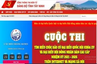 Kết quả Cuộc thi tìm hiểu cuộc bầu cử đại biểu Quốc hội và Hội đồng nhân dân các cấp đợt tháng 3.2021