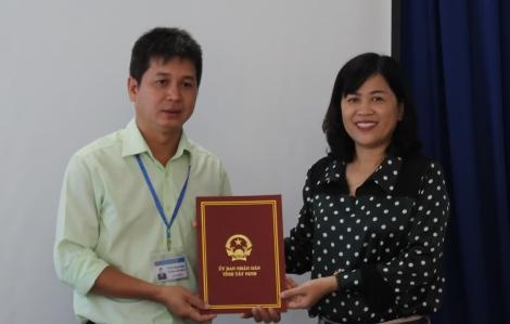 Bổ nhiệm Phó Giám đốc Ban quản lý dự án đầu tư xây dựng ngành nông nghiệp và phát triển nông thôn tỉnh