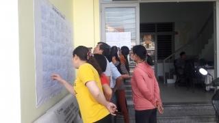 Thành phố Tây Ninh hoàn thành việc niêm yết danh sách cử tri