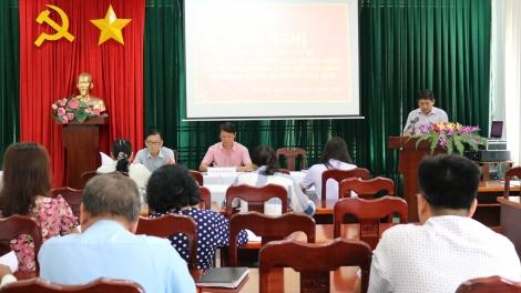 Gò Dầu tổ chức hội nghị hiệp thương lần thứ 3