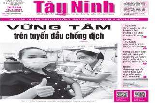 Điểm báo in Tây Ninh ngày 16.04.2021
