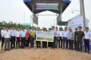 Bộ trưởng Bộ Nông nghiệp và Phát triển nông thôn thăm Tây Ninh