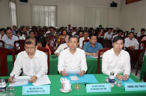 Ủy ban MTTQ Việt Nam tỉnh tổ chức Hội nghị hiệp thương lần ba