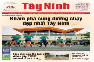 Điểm báo in Tây Ninh ngày 17.04.2021