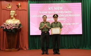 Kỷ niệm 75 năm Ngày truyền thống lực lượng Tham mưu Công an nhân dân