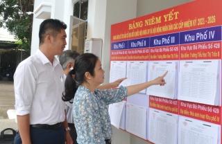 Ban bầu cử số 12 tỉnh: Kiểm tra công tác chuẩn bị bầu cử đại biểu Quốc hội và HĐND các cấp nhiệm kỳ 2021-2026 tại huyện Tân Châu