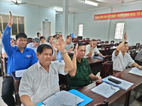 Thị xã Trảng Bàng tổ chức hội nghị hiệp thương lần thứ 3