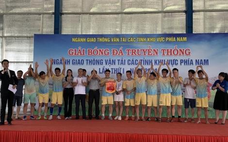 Khai mạc giải bóng đá ngành GTVT các tỉnh khu vực phía Nam