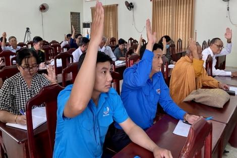 Châu Thành: Hội nghị hiệp thương lần 3