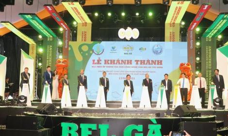 Khánh thành nhà máy ấp trứng gia cầm công nghệ cao Bel Gà Tây Ninh