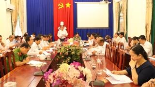 Huyện Gò Dầu: Thu, chi ngân sách đều giảm so cùng kỳ