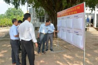 Kiểm tra công tác chuẩn bị bầu cử đại biểu Quốc hội và HĐND các cấp nhiệm kỳ 2021-2026 tại huyện Tân Châu