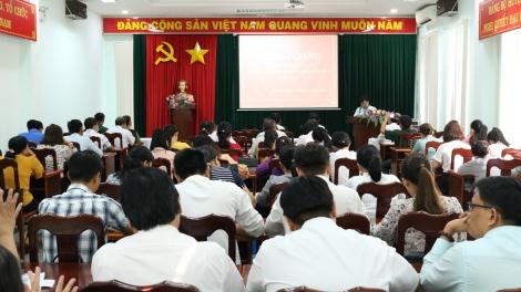 Gò Dầu: Mở lớp bồi dưỡng kiến thức Quốc phòng - An ninh dành cho đối tượng 4 năm 2021