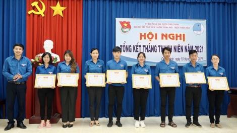 Tháng Thanh niên 2021: ĐVTN huyện Châu Thành thực hiện nhiều công trình hiệu quả thiết thực