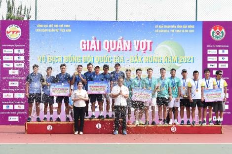 Đồng đội nam Hải Đăng Tây Ninh toàn thắng