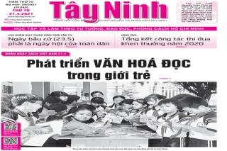 Điểm báo in Tây Ninh ngày 21.04.2021