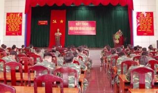 Bế mạc huấn luyện quân nhân dự bị