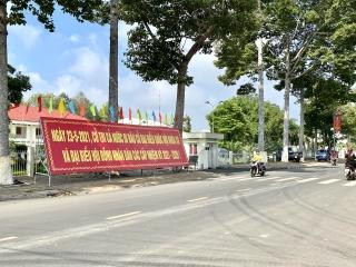 Châu Thành: Đẩy mạnh công tác tuyên truyền bầu cử ĐBQH khóa XV và đại biểu HĐND các cấp nhiệm kỳ 2021-2026