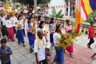 Rộn ràng tết Khmer