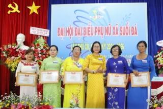 Đại hội đại biểu phụ nữ xã Suối Đá nhiệm kỳ 2021 – 2026