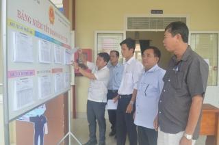 Hòa Thành: 8 xã, phường cơ bản hoàn thành việc lập và niêm yết danh sách cử tri