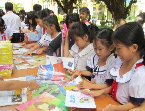 Hưởng ứng ngày Sách Việt Nam lần thứ 8