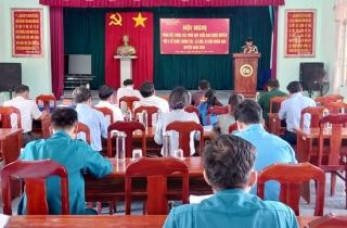 Tân Biên: Tổng kết công tác phối hợp hoạt động giữa Ban CHQS và 6 tổ chức chính trị - xã hội, xã hội nhân đạo năm 2020