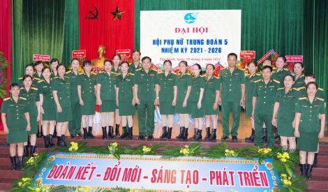 Trung đoàn 5, Sư đoàn 5: Đại hội Hội Phụ nữ nhiệm kỳ 2021-2026