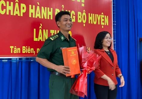 Chỉ định, bổ sung Trung tá Phạm Mạc Thuần vào BCH Đảng bộ huyện Tân Biên