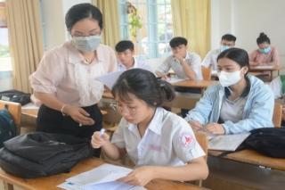 Thi tốt nghiệp THPT: Học lực loại kém không được dự thi