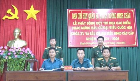 Học tập Nghị quyết Đại hội XIII của Đảng và phát động thi đua chào mừng bầu cử