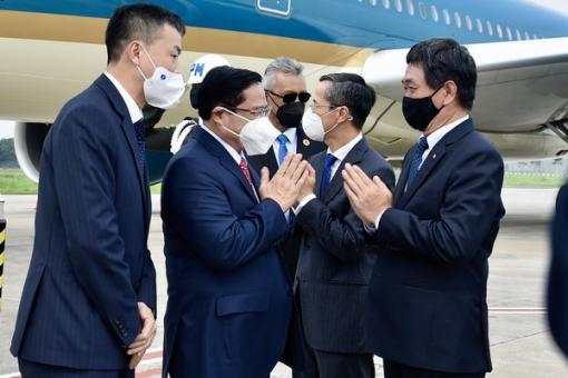 Thủ tướng Phạm Minh Chính tới Indonesia, bắt đầu chuyến công tác nước ngoài đầu tiên