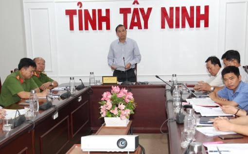 Chính phủ tổng kết đề án 896: Công an tỉnh Tây Ninh nhận bằng khen của Thủ tướng Chính phủ