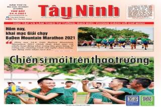 Điểm báo in Tây Ninh ngày 24.04.2021