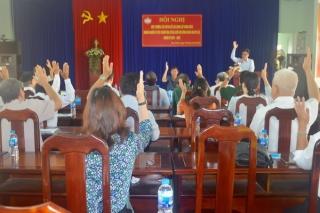 Thị xã Hòa Thành: Hoàn thành công tác hiệp thương lần 3