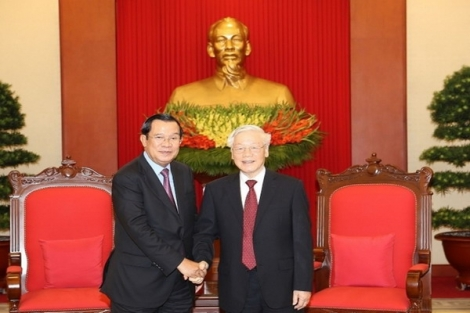 Tổng Bí thư Nguyễn Phú Trọng gửi thư thăm hỏi tình hình dịch bệnh Covid-19 tại Campuchia