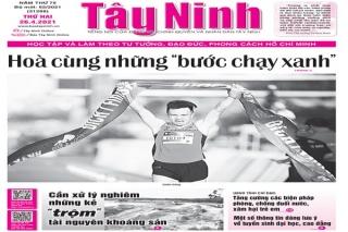 Điểm báo in Tây Ninh ngày 26.04.2021