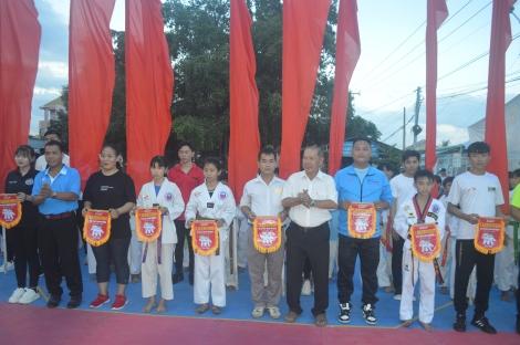 Hòa Thành: Gần 90 vận động viên tham gia giải Taekwondo mở rộng năm 2021