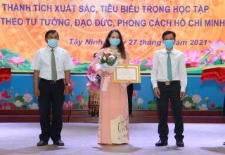Đảng ủy Khối Cơ quan và Doanh nghiệp tỉnh: Sơ kết 5 năm thực hiện Chỉ thị số 05 của Bộ Chính trị khóa XII