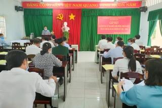Thị xã Trảng Bàng tổ chức gặp mặt người ứng cử đại biểu HĐND thị xã nhiệm kỳ 2021 - 2026