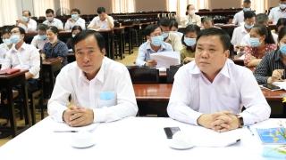 Gò Dầu: tổ chức gặp mặt những người ứng cử đại biểu HĐND huyện nhiệm kỳ 2021 - 2026