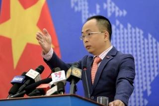 Việt Nam phản đối và kiên quyết bác bỏ quyết định đơn phương của Trung Quốc