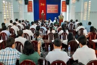 Bến Cầu: Gặp mặt người ứng cử Đại biểu HĐND huyện, nhiệm kỳ 2021-2026