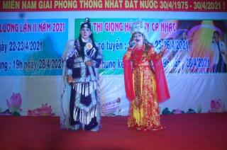 Gò Dầu tổ chức hội thi trích đoạn cải lương và ca nhạc
