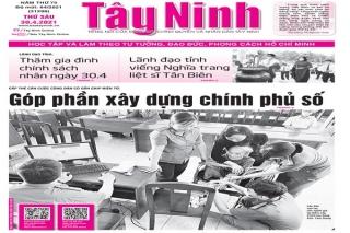 Điểm báo in Tây Ninh ngày 30.04.2021