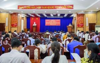 Tân Châu gặp mặt người ứng cử đại biểu HĐND huyện nhiệm kỳ 2021-2026