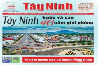 Điểm báo in Tây Ninh ngày 01.05.2021